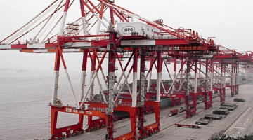The largest seaports in China
