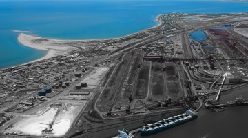 The largest seaports in Australia