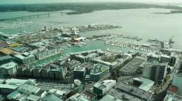 Seaport of Auckland