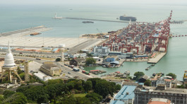 Seaport of Colombo