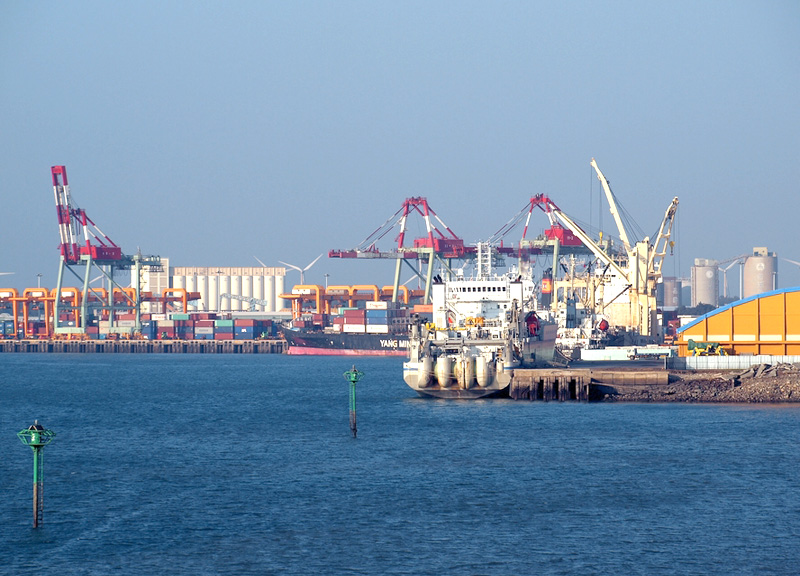 Seaport of Taichung