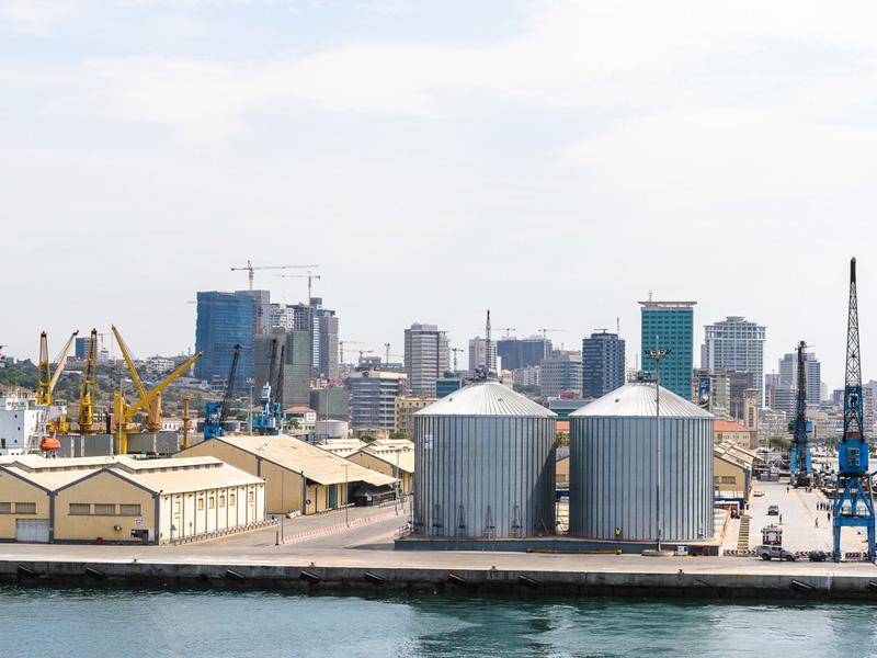 Seaport of Luanda