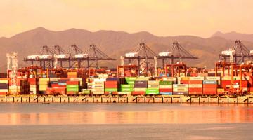 Seaport of Yantian