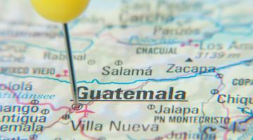 Seaport of Guatemala City