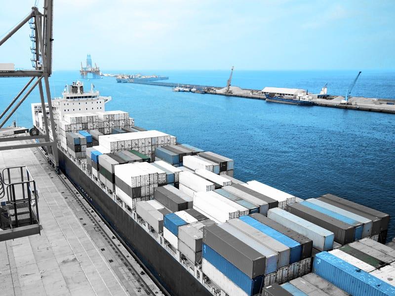 Chiński CIF transport morski