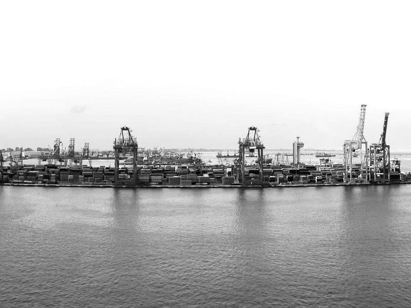 Port morski w Alexandrii