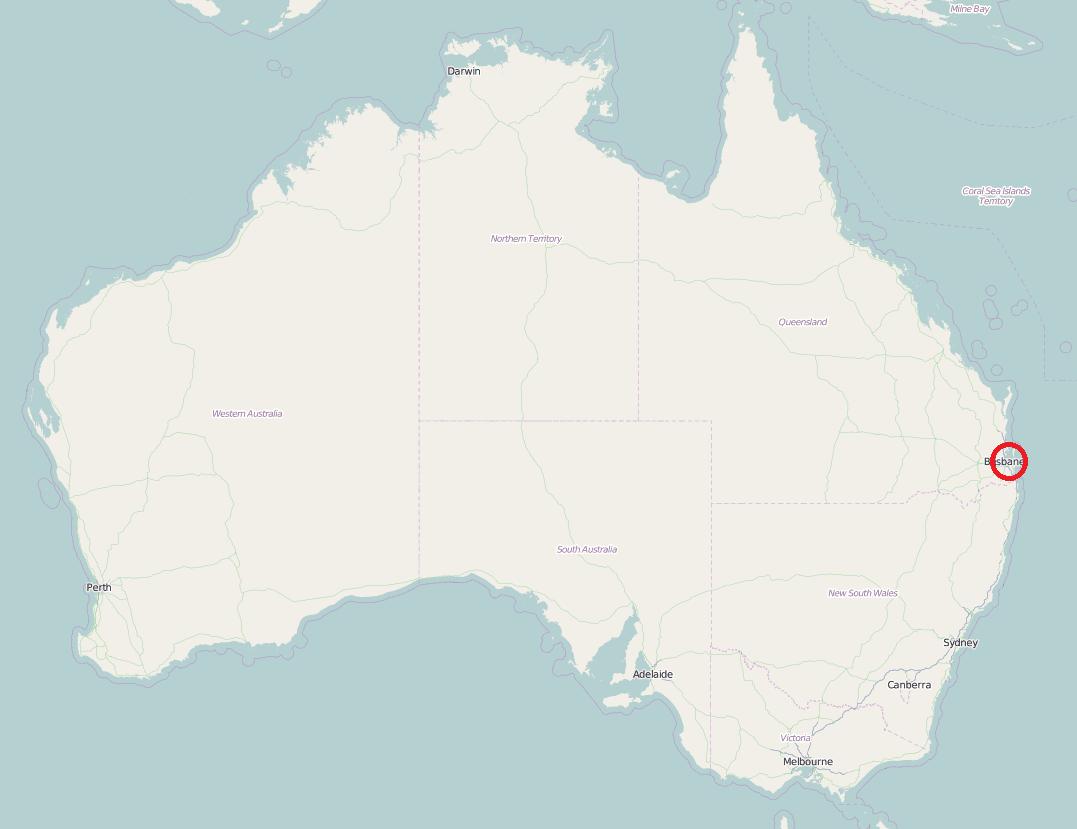 Port w Brisbane