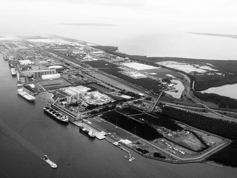 Port morski Brisbane w Australii