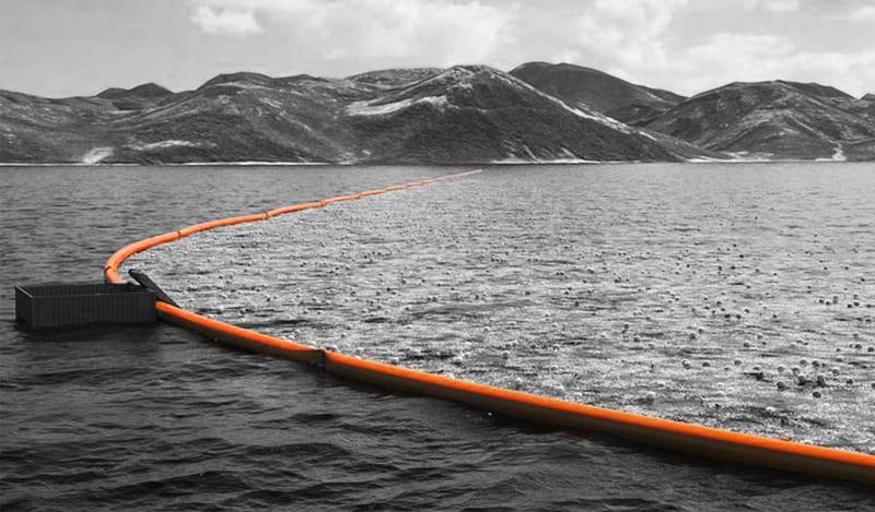 Zanieczyszczony Ocean Spokojny