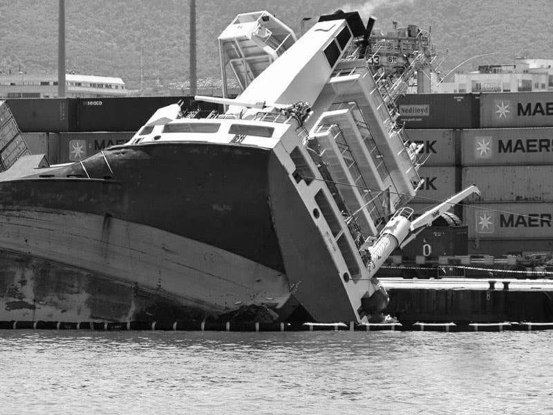Transport morski - zapobieganie kolizjom