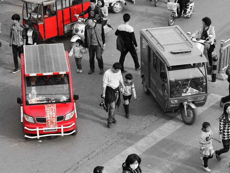 Importowanie z Chin, czyli napęd na cztery koła