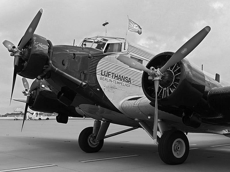 Transport lotniczy - Ju 52