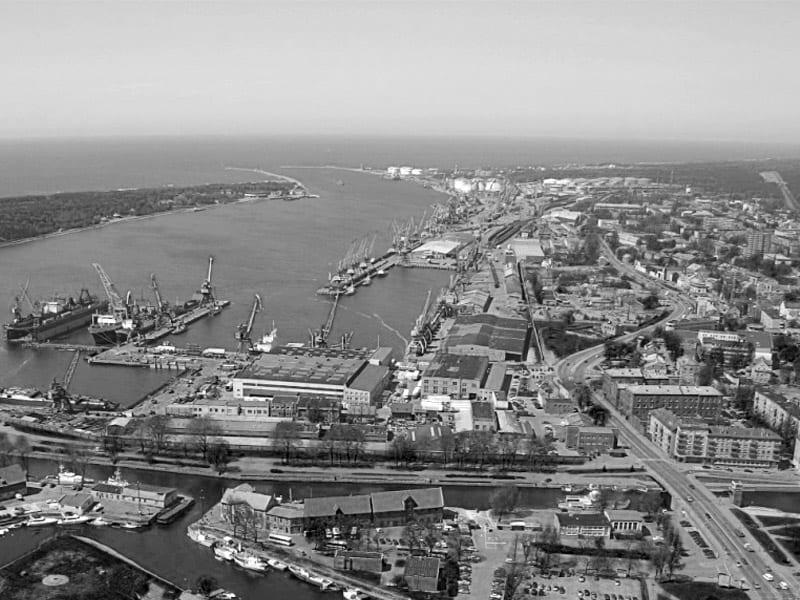 Transport na Bałtyku - port w Kłajpedzie