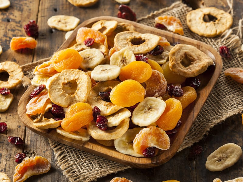 Eksport suszonych owoców i warzyw
