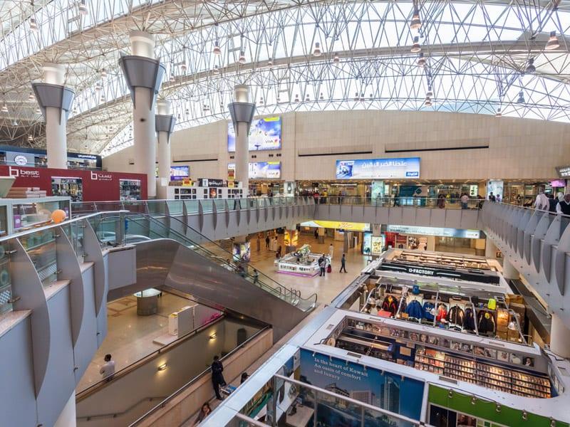 Port lotniczy Kuwait