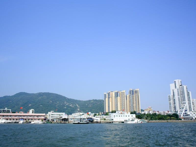 Port morski Zhuhai