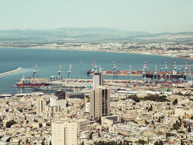 Port morski Haifa