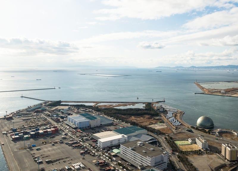 Port morski Osaka