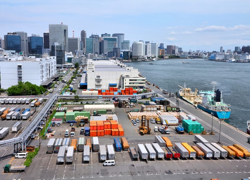 Port morski Tokyo