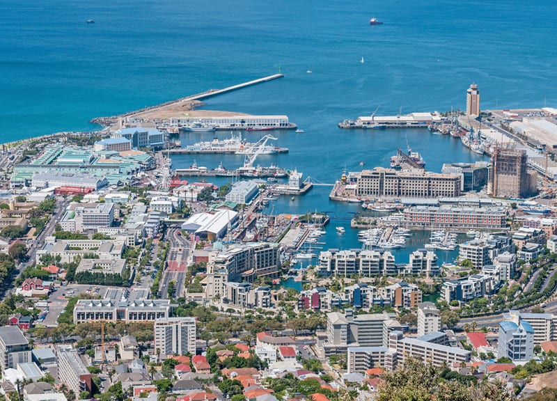 Port morski Cape Town