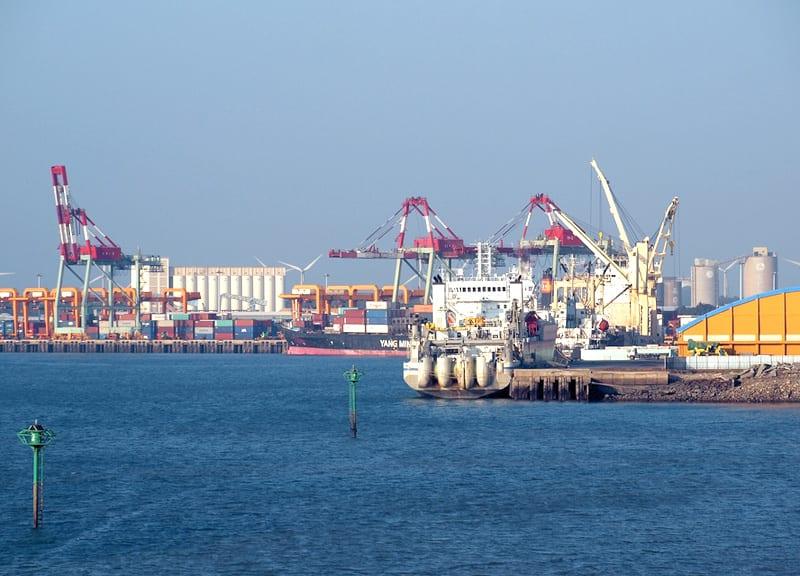 Port morski Taichung