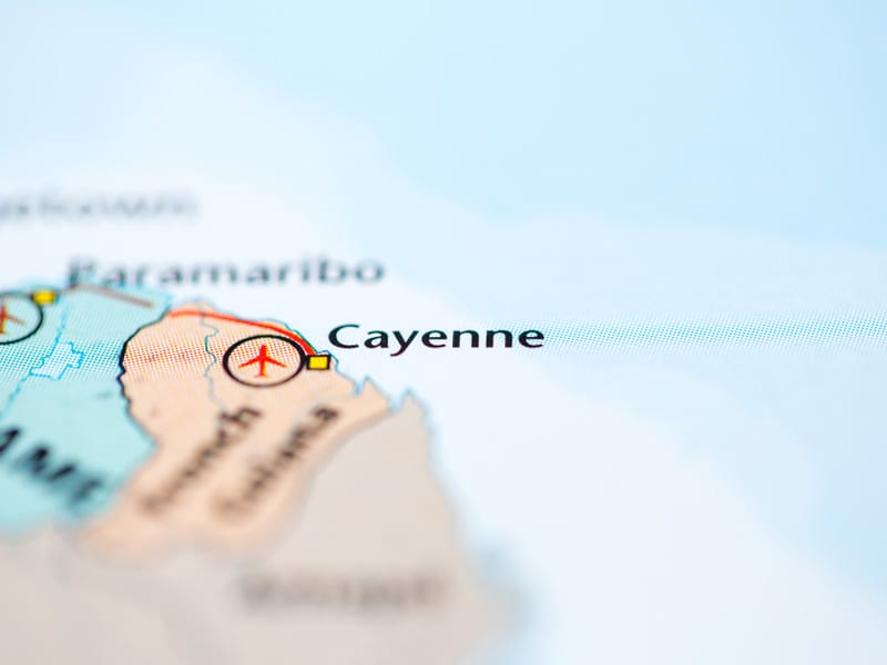 Port morski Cayenne
