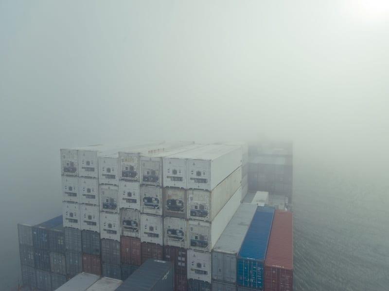 Znikające kontenery