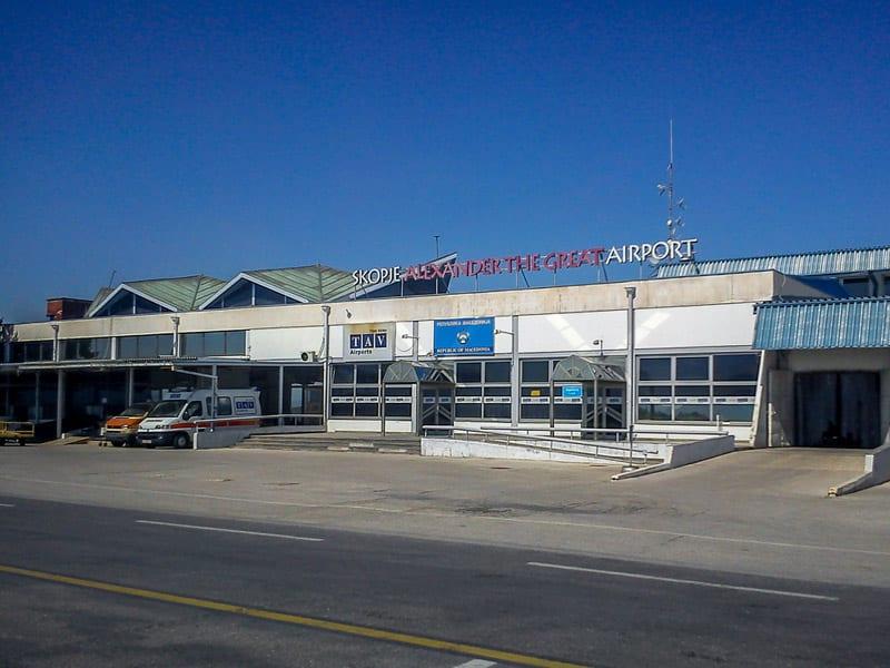 Port lotniczy Skopje