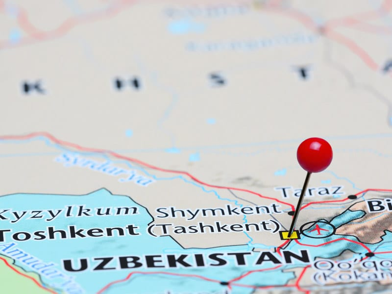 Port lotniczy Tashkent