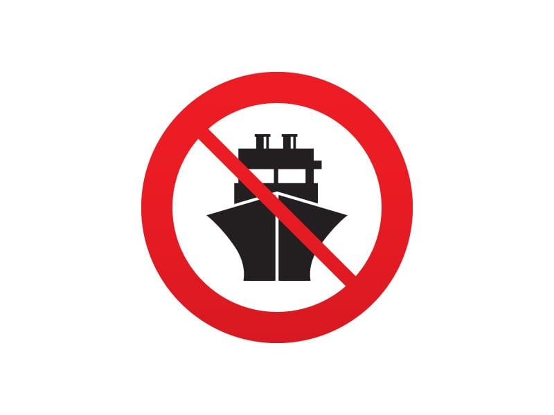 Zakaz handlu - porty