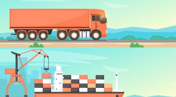 Co lepsze: transport drogowy czy transport morski