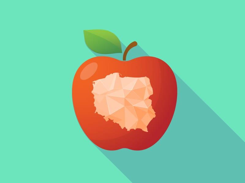 Eksport jabłek