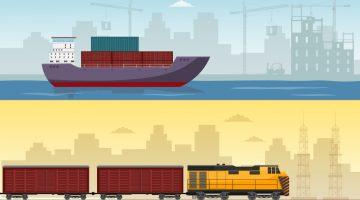 Transport morski, czy transport kolejowy?
