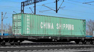 Kolejowy transport drobnicowy z Chin
