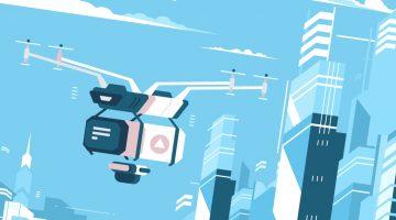 Drony – melodia odległej przyszłości, czy środek ułatwiający transport?
